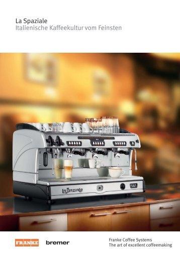 La Spaziale Italienische Kaffeekultur vom Feinsten