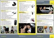 Snyze letáček Jabra mobile produktů - distributoři