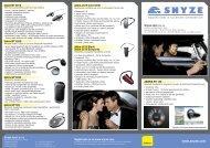 Snyze letáček Jabra mobile produktů