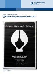 1978: Else Harney, Wendelin Stahl: Keramik - Galerie Handwerk ...