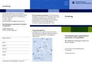 Einladung Dienstleistungen systematisch entwickeln und gestalten