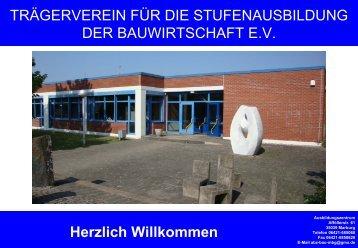 """Präsentation """"Bildungzentrum der Bauwirtschaft"""""""