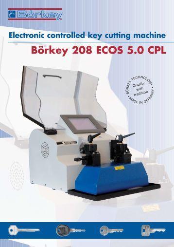 borkey key machine