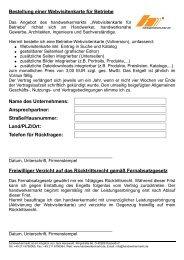 Bestellformular für die Vollversion (PDF) - Handwerkermarkt