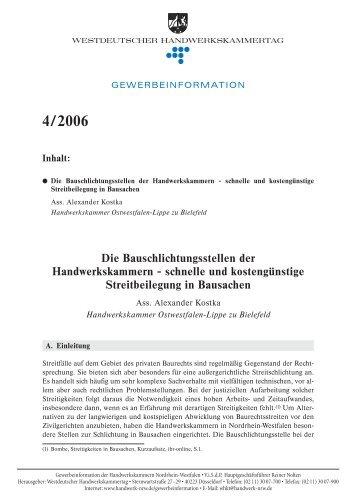 4/2006 - handwerksblatt.de - Handwerk