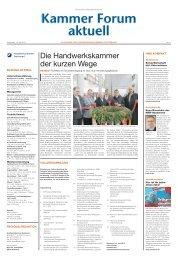 Die Handwerkskammer der kurzen Wege - Handwerkskammer Dortmund