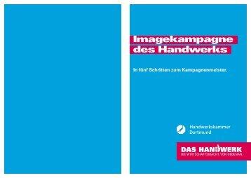 Imagekampagne des Handwerks - Handwerkskammer Dortmund