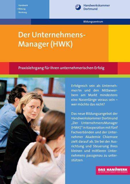 UnternehmensManager - Handwerkskammer Dortmund