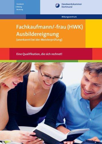 Ausbildereignung - Handwerkskammer Dortmund