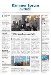 Tüftler aus Leidenschaft - Handwerkskammer Dortmund