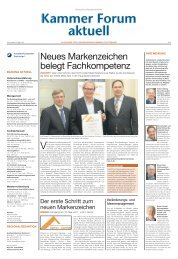 Neues Markenzeichen belegt Fachkompetenz - Handwerkskammer Dortmund