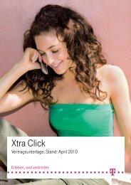 Preisliste Xtra Click Telekom Mobilfunk April 2010 - HandyKostNix.de