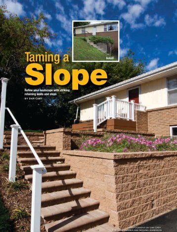 11-08-FEA-Tame a Slope.indd - Handyman Club of America