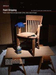 11-12-Skills-Paint Stripping.indd - Handyman Club of America