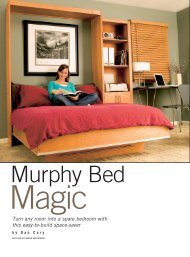 Murphy Bed - Handyman Club of America