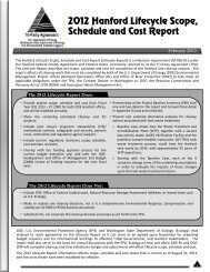 2012 Fact Sheet - Hanford Site