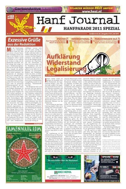 Sonderausgabe Hanfparade 2011 - Hanfjournal