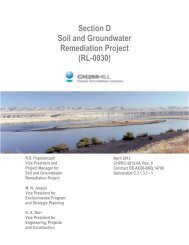 Section D Soil and Groundwater Remediation Project ... - Hanford Site
