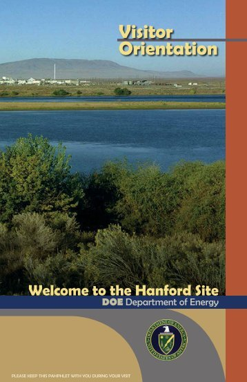 Visitor Orientation - Hanford Site