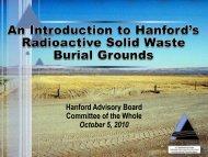 20101005_SWBG_COTWS_TPA_Presentations - Hanford Site