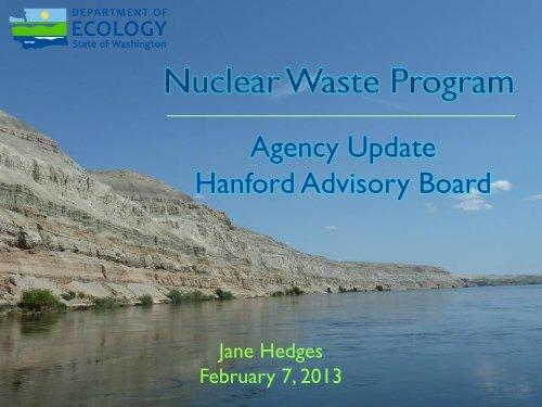 Attachment #3 - HAB Ecology Program Update