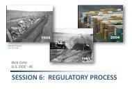 SESSION 6: REGULATORY PROCESS - Hanford Site