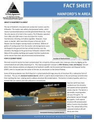 Hanford's N Area Fact Sheet - Hanford Site