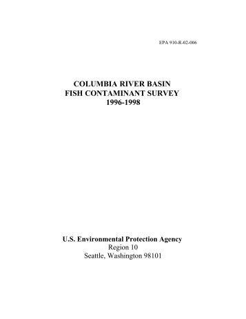 columbia river basin fish contaminant survey 1996 - Environmental ...