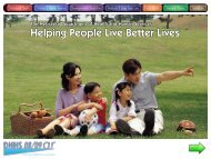 Helping People Live Better Lives - Nebraska Department of Health ...