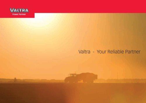 Valtra - Your Reliable Partner - Hanki-Ker Kft.