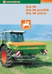 Amazone ZA-M műtrágyaszórók - Hanki-Ker Kft.