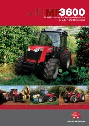 view the catalog MF9635 V,S,F Series tractors