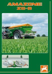 Farmers Rely On AMAZONE Precise, Economical And - Hanki-Ker Kft.