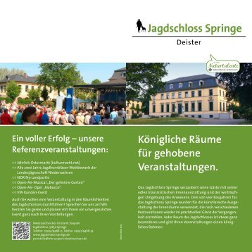 Locationflyer (PDF) - Hannover Locations