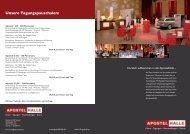 Unsere Tagungspauschalen: - Hannover Locations