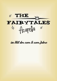 Fairytales Infomappe (pdf) - Hannover Locations