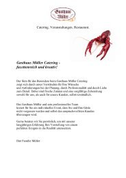 Catering - Hannover Locations
