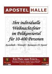 Weihnachtsfeiern (PDF) - Hannover Locations