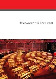Mietwaren (PDF) - Hannover Locations
