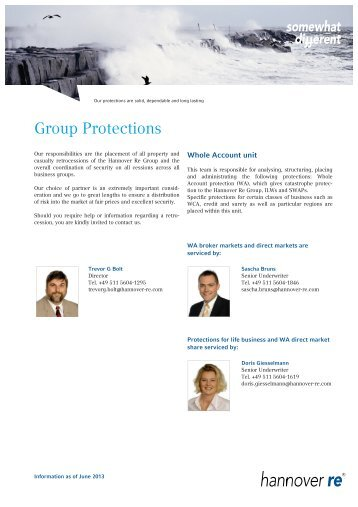 Group Protection - Hannover Re