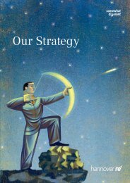 Strategy brochure - Hannover Re