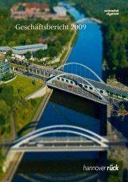 Geschäftsbericht 2009 - Hannover Re