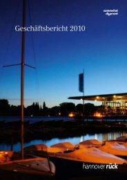 Geschäftsbericht 2010 - Hannover Re