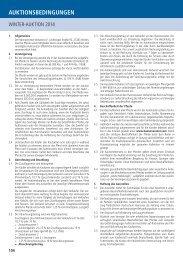 Auktionsbedingungen Reitpferde - Hannoveraner Verband
