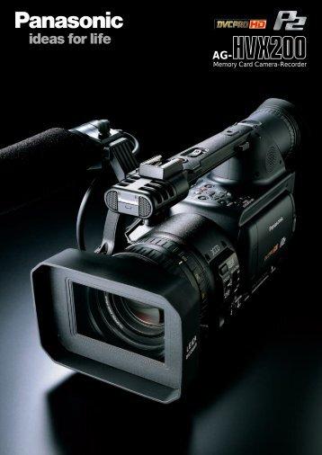 AG-HVX200 - Hannu Pro