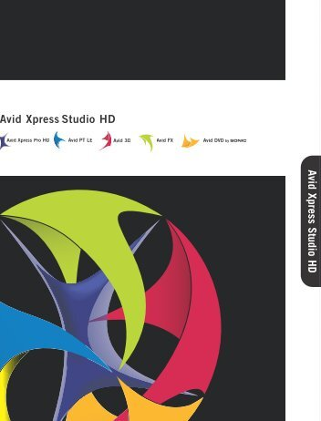 Avid Xpress Studio HD Avid Xpress Studio HD Avid ... - Hannu Pro