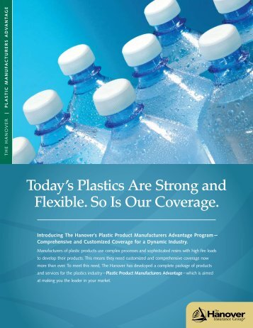 Today's Plastics Are Strong and Flexible. So Is Our Coverage.