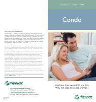 Connections Condo Insurance brochure - The Hanover Insurance ...