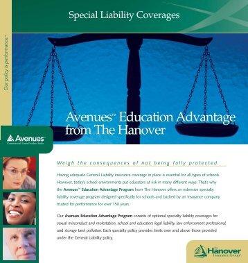 115-1016 Special Liability Insert - The Hanover Insurance Company