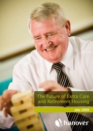 The Future of Extra Care and Retirement Housing - Hanover